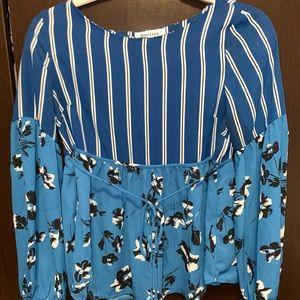 Monteau LA- Dress Shirt, SIZE:S